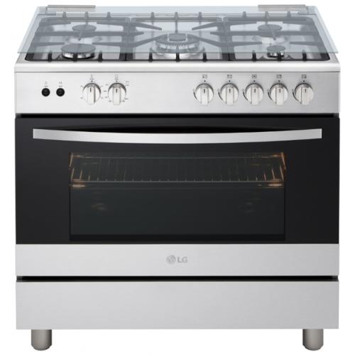 LG Free Standing 90 cm Gas Cooker - FA415RMA