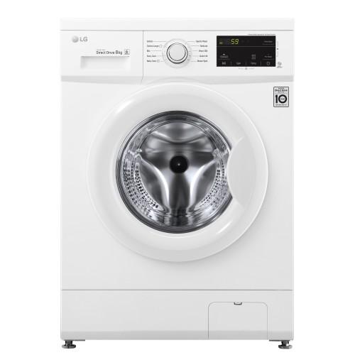 LG 8 Kg Front Load Washing Machine - FH2J3TDNP0