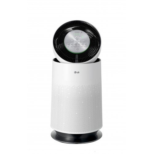 LG PuriCare™ 360° Single Air Purifier White (With Clean Booster) + Free Puricare Filter