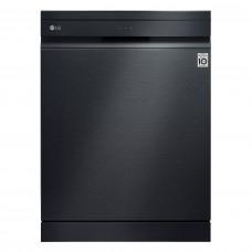 LG Matte Black QuadWash™ Steam Dishwasher- DFB325HM