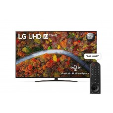 LG UHD 65 Inch UP81 Series Cinema Screen Design - 65UP8150PVB